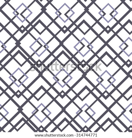 Seamless pattern. geometric texture with small squares, rhombuses, stripes. Vector background.  Vector illustration.