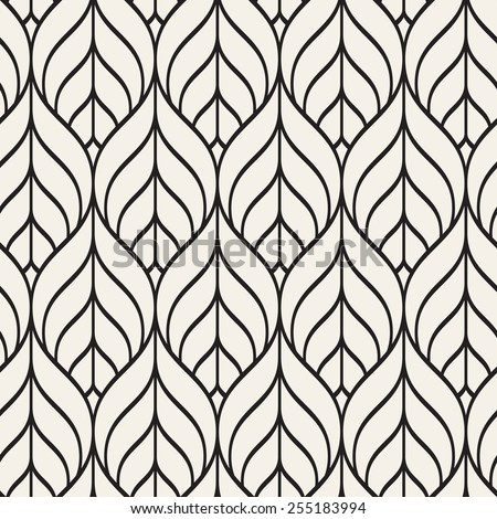 Seamless Pattern Graphic Ornament Floral Stylish Stock