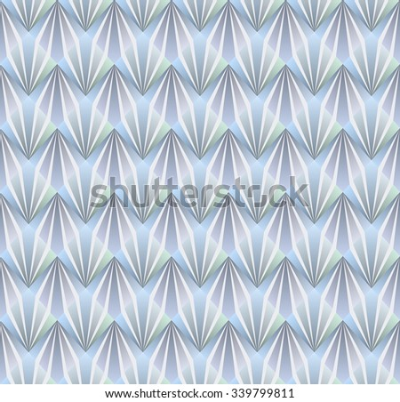 Seamless pattern in fine design. geometry and lines deco - stock vector