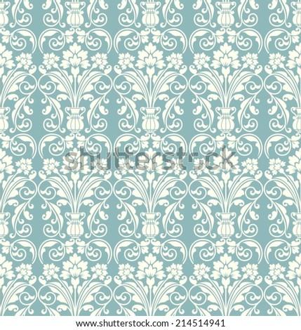 Seamless pattern in vintage stile. - stock vector