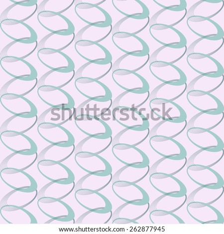 Seamless pattern. intersecting rings