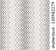 Seamless pattern. Iridescent texture with halftone dots - stock photo