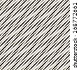 Seamless pattern. Irregular abstract striped texture with a diagonal direction - stock vector