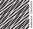Seamless pattern. Irregular abstract striped texture with diagonal direction - stock photo
