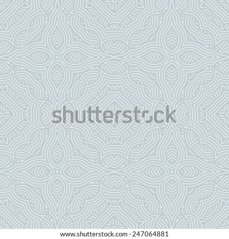 Seamless pattern. Light vector background - stock vector