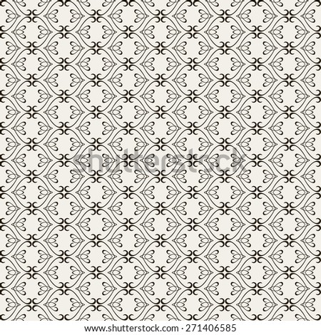 Seamless pattern. Line design. Geometric pattern. Background texture. Vector art. Abstract background. Backdrop design. Black and white wallpaper for Your design book web design, wallpapers for walls.