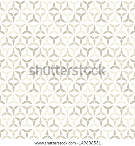 Seamless pattern. Modern stylish texture. Geometric abstract background - stock vector
