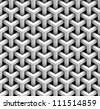 seamless pattern of gray blocks - stock