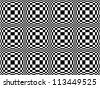 Seamless pattern of squares - stock vector