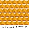 Seamless pattern of triangles - stock vector
