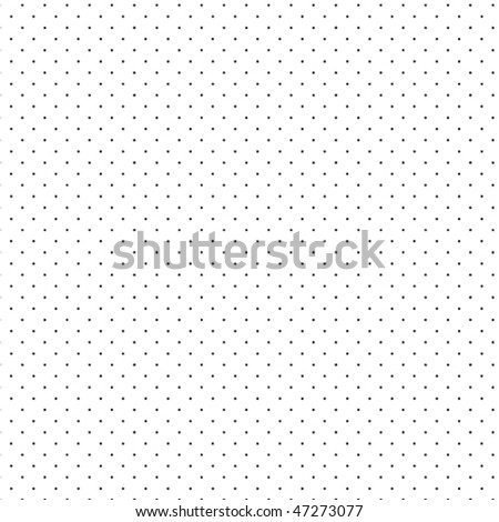 Seamless pattern pois - stock vector