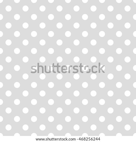 Seamless Pattern Pois Dot Pattern Background Stock Vector 468256244 ...