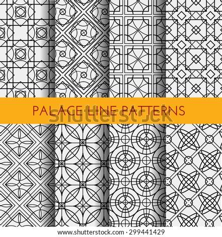 Seamless pattern. Royal pattern vector. Vintage pattern vector background. Royal background. Palace wallpaper background. Palace wall pattern. Royal wall background. Fleur de lis pattern vector. - stock vector