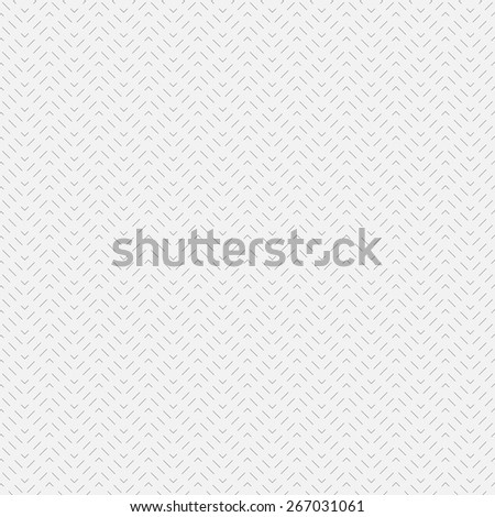 Seamless pattern. Simple linear texture in the form of waves. Dashed line. Monochrome. Repeating thin lines. Backdrop. Web. Vector illustration for your design - stock vector