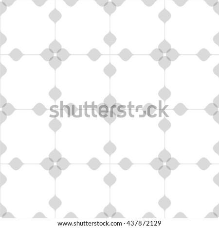 Seamless pattern. Stylish geometric texture. - stock vector