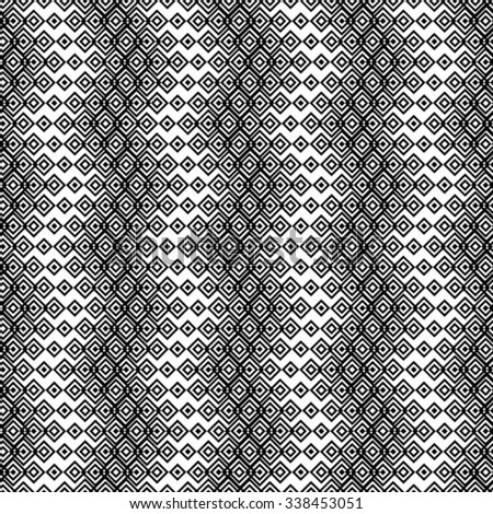 Seamless pattern. Stylish geometric texture in the form of waves. Repeating lines.