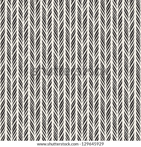 Seamless pattern. Texture with vertical braids. Stylish abstract background. Modern wallpaper - stock vector