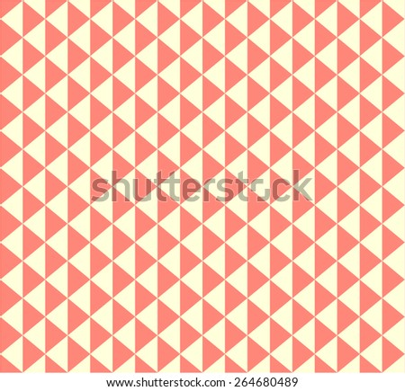 Seamless Pattern Triangles - stock vector