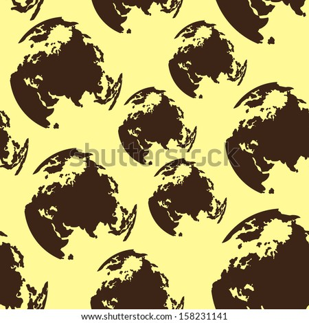 seamless pattern vector - stock vector