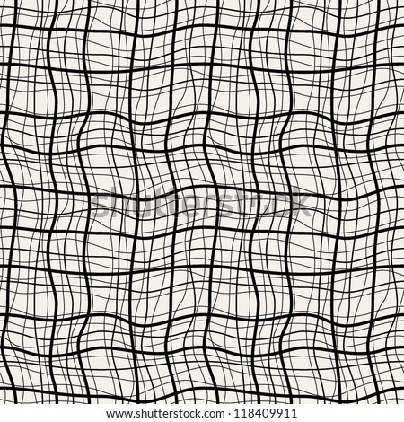 Seamless pattern. Vector abstract background. Cool checkered structure - stock vector