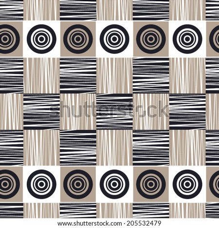seamless pattern vector background - stock vector