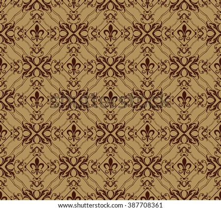seamless pattern vector,background wallpaper,vintage style,brown image,vector,pattern background,background pattern,wallpaper pattern,pattern vector,damask pattern,vintage pattern,seamless pattern