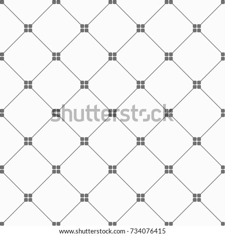 seamless pattern vector, black diagonal geometric graphic on white background