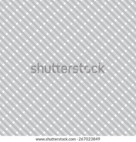 Seamless pattern. Vintage geometric texture with repeating rhombuses, stripes, squares. Dashed line. Monochrome. Backdrop. Web. Vector illustration for your design - stock vector