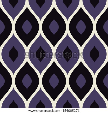 Seamless pattern violet and white - stock vector