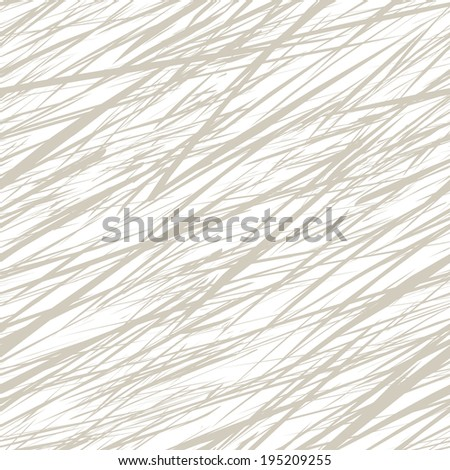 Seamless pattern with abstract linear grunge texture. Vector illustration - stock vector