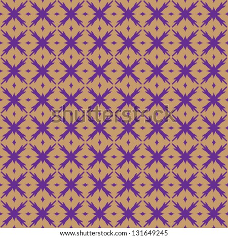 Seamless pattern with abstract ornament background.