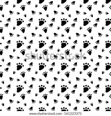 Animal foot prints patterns - photo#11