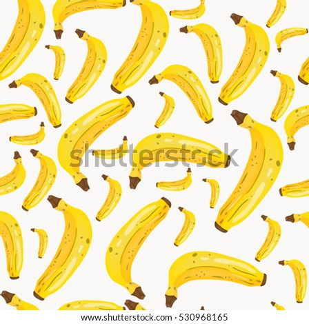 Seamless pattern with  Banana