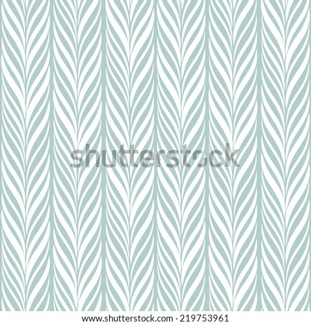 Seamless pattern with braids. Endless stylish texture. Ripple pastel background - stock vector