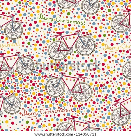 Christmas Bike Stock Images, Royalty-Free Images & Vectors ...
