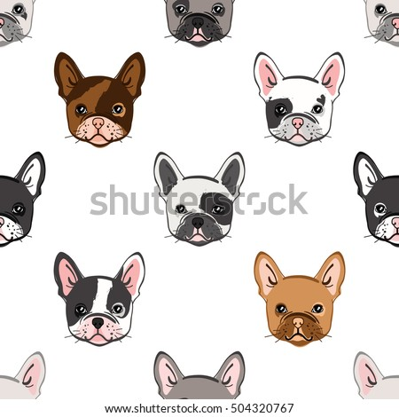 Amazing French Bulldog Chubby Adorable Dog - stock-vector-seamless-pattern-with-cute-french-bulldog-vector-illustration-504320767  Snapshot_738082  .jpg