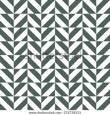 Seamless pattern with geometric ornament - stock vector
