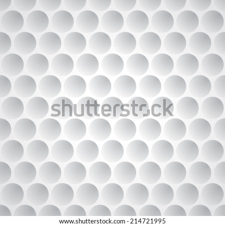 Seamless pattern with golf ball texture. Vector background - stock vector