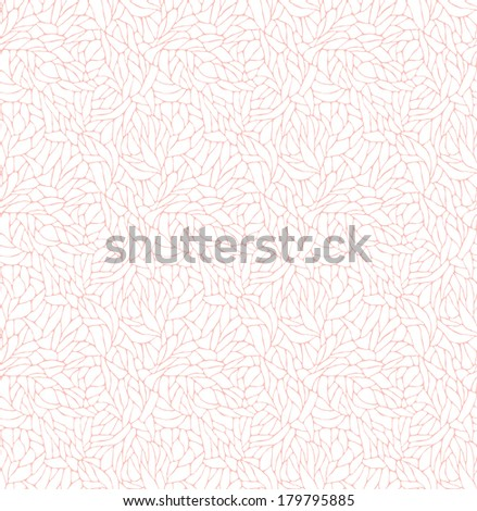 Seamless pattern with lace texture. Vintage wallpaper. Vector illustration. - stock vector
