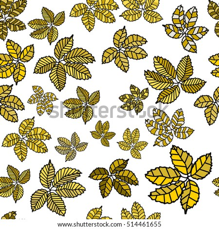 stock-vector-seamless-pattern-with-leaves-hand-drawn-vector ...