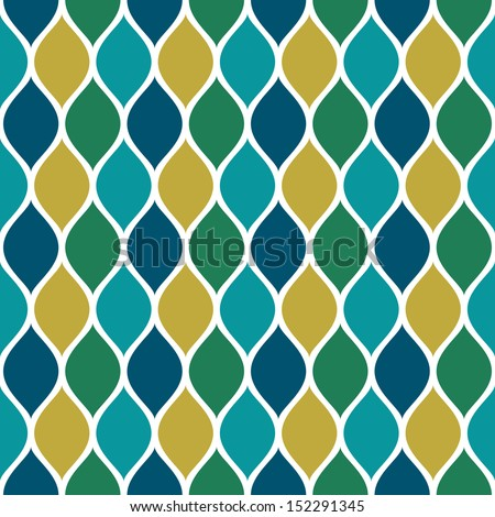 Seamless pattern with multicolored shapes - stock vector