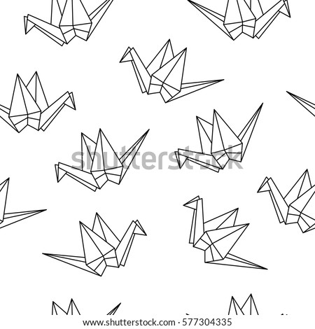 origami crane stock images  royalty