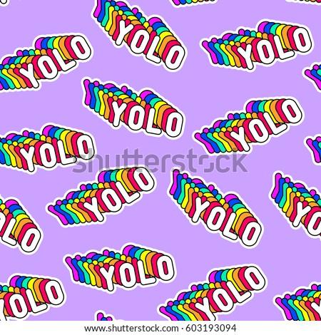 Yolo word art