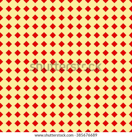 Seamless pattern with symmetric geometric ornament. Mosaic abstract background. Elements repeated wallpaper. Vector illustration - stock vector