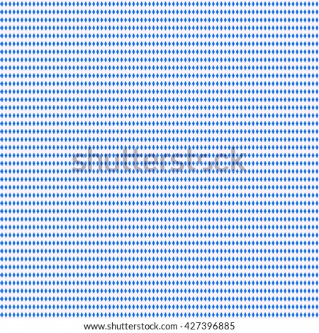 Seamless pattern with symmetric geometric ornament. Repeating blocks background. Abstract repeated rhombuses wallpaper. Vector illustration - stock vector