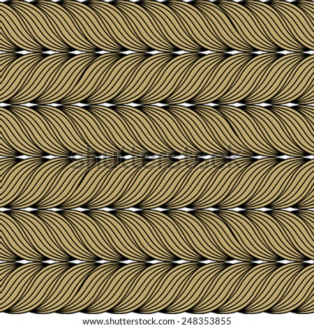 Seamless pattern with twisted ropes.Texture for web, print, wallpaper, decals, fall winter fashion, textile design, invitation or website background, holiday home decor - stock vector