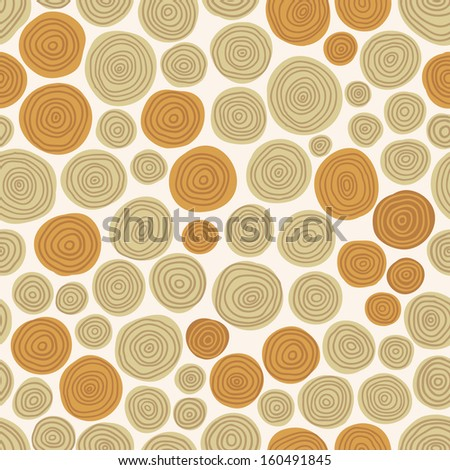 Seamless pattern with wood pieces