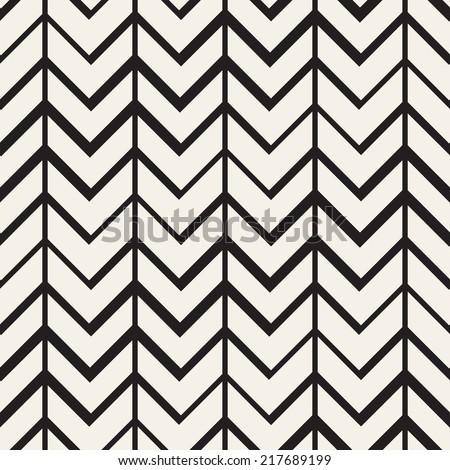 Seamless pattern. Zigzag stripes. Chevron texture - stock vector