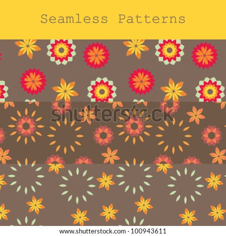 Seamless Patterns, 3 in 1