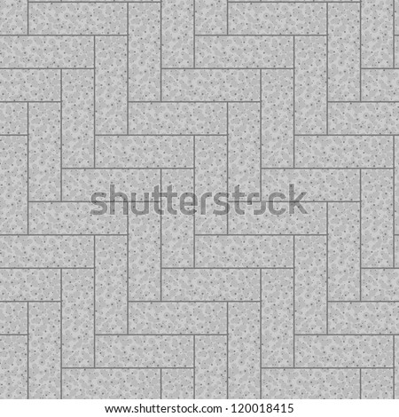 Seamless pavement pattern. Vector. Background, texture - stock vector